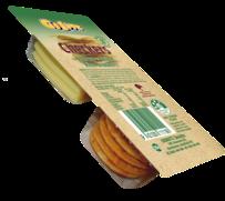 Cheese & Onion Rice Crackers 35g - 16pk Display
