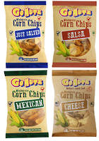 Corn Chips Wholegrain 12x150g VARIETY box
