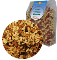 Fruit Cashew Combo Roasted Salted - 1kg 1 pk