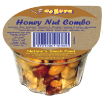 Honey Nut Combo Tub 50g - 12 Tray