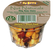Nut Naturals Tub 50g - 12 Tray