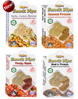 Snack Dips MIXED BOX 12x35g