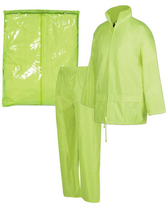 3BRJ  BAGGED RAIN JACKET/PANT SET