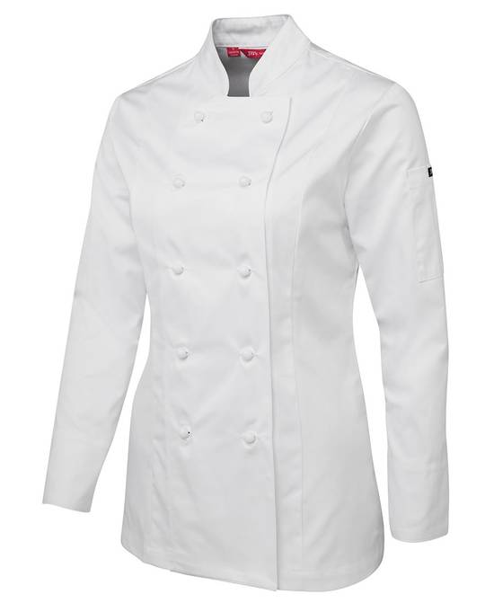 LADIES L/S CHEF'S JACKET 5CJ1