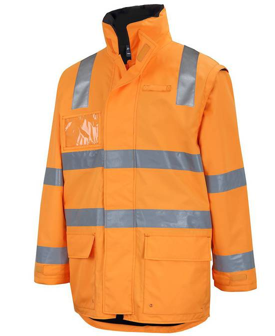 6DARL AUST. RAIL D+N ZIP OFF SLEEVE L/LINE JACKET