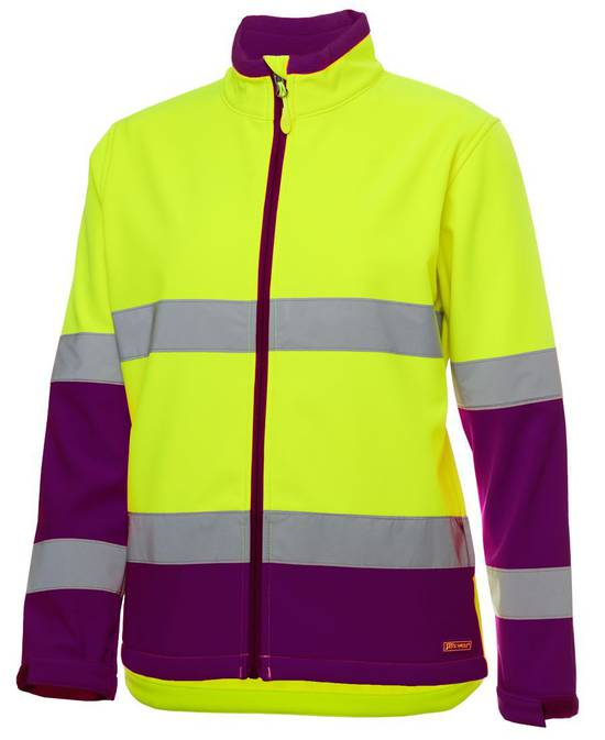 6DWJ1  LDS HV (D+N) W/RESIST SOFTSHELL JACKET