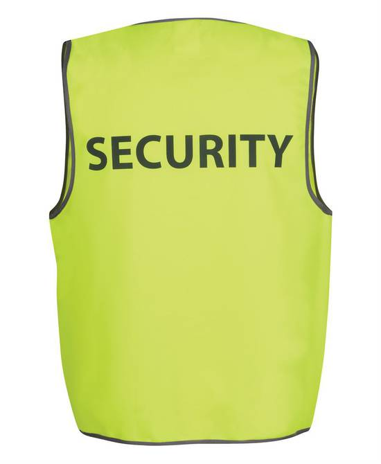 HI VIS SAFETY VEST SECURITY/STAFF/VISITOR