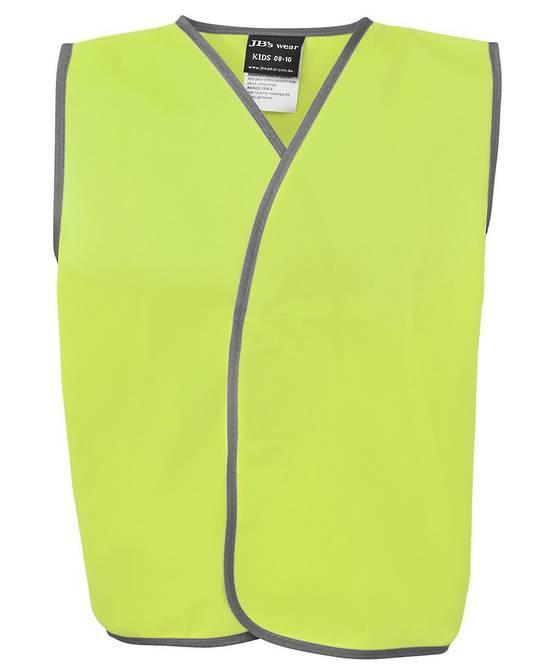6HVSU Kids Hi Vis Safety Vest
