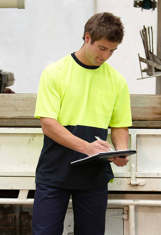 Hi Vis Traditional T-shirt with Printing