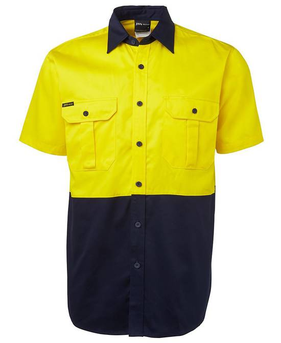 6HWS Hi Vis S/S 190G Shirt
