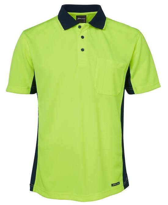 6SPHS Hi Vis S/S Sport Polo