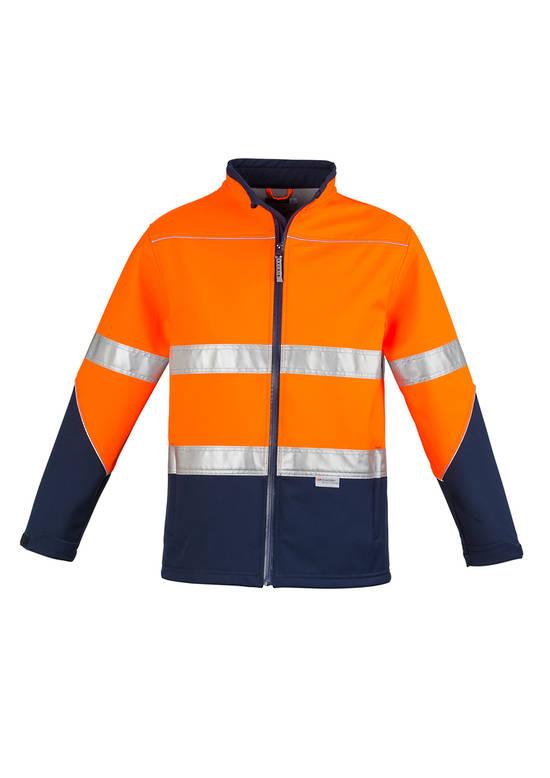 ZJ353 Unisex Hi Vis Soft Shell Jacket