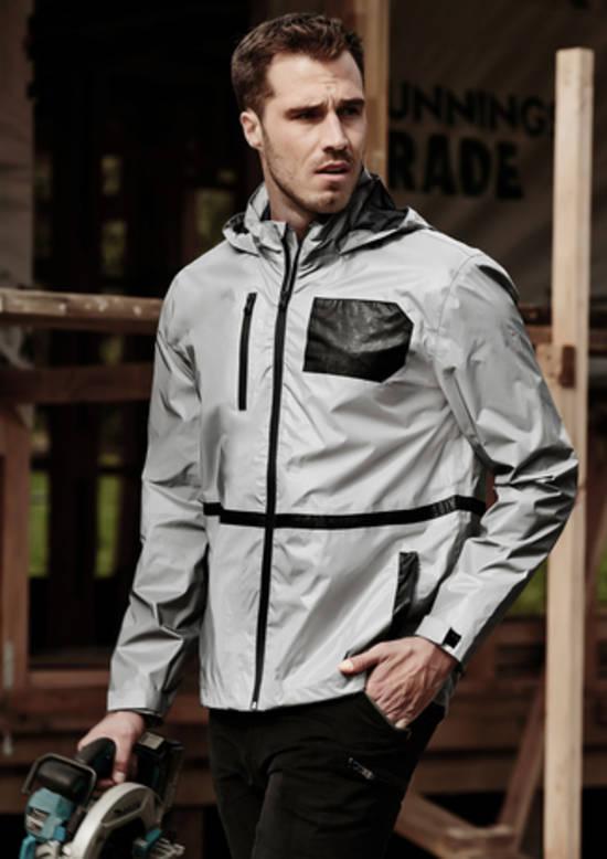 Unisex Reflective Waterproof Jacket