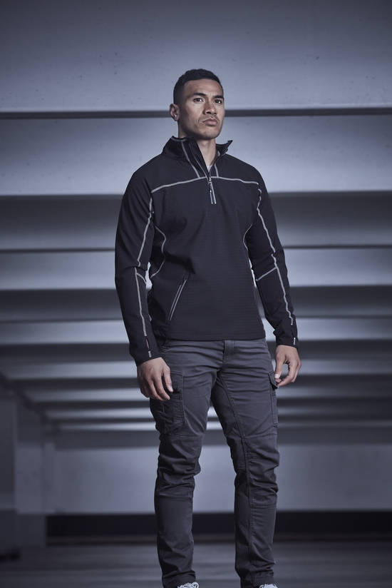 MENS STREETWORX STRETCH MID-LAYER