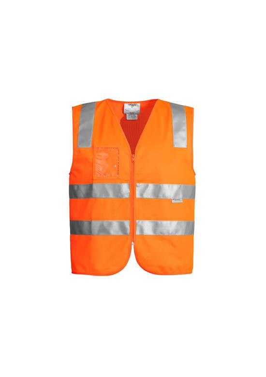 ZV998 Unisex Hi Vis Full Zip Vest