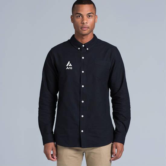 ARA Men's Cotton Oxford Shirt