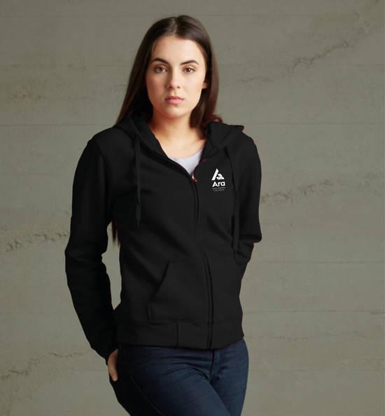 ARA Women's Zip Hoodie