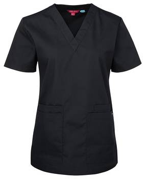 LADIES SCRUBS TOP 4SRT1 HOSPITAL ESSENTIAL