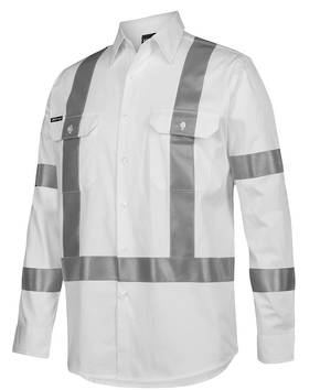 6BNS  BIOMOTION NIGHT 190G SHIRT REFLECTIVE TAPE