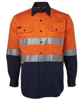 6HLS Hi Vis (D+N) L/S 190G Shirt