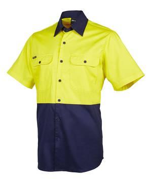 6HWSS Hi Vis S/S 150G Shirt