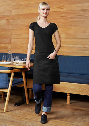 BA94 SHORT WAISTED APRON