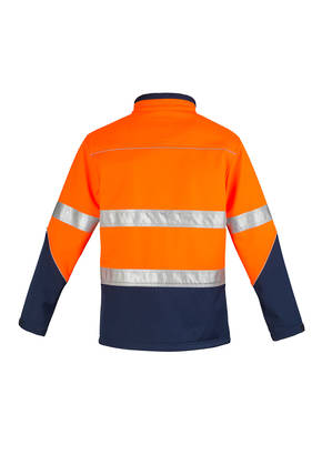 ZJ353 Unisex Hi Vis Soft Shell Jacket