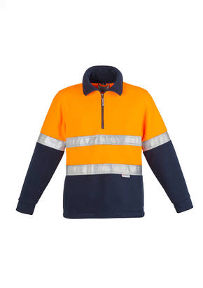 ZT461 Mens Hi Vis Fleece Jumper - Hoop Taped