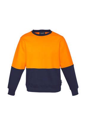 ZT465 Unisex Hi Vis Crew Sweatshirt