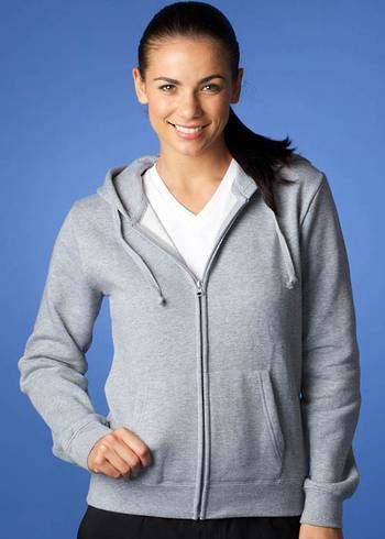 KOZI LADIES ZIP THRU HOODIES
