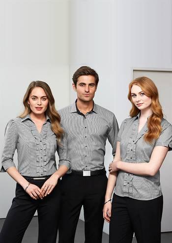 Ladies Edge 3/4 Sleeve Shirt