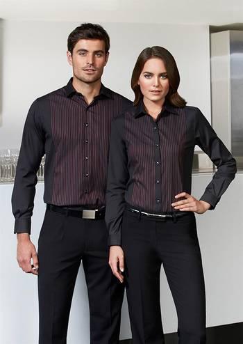 Ladies Reno Panel Long Sleeve Shirt