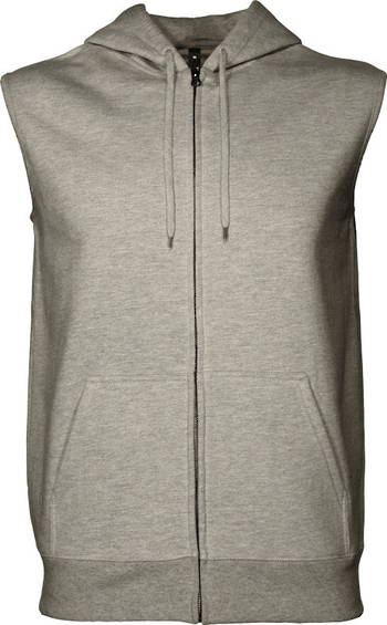 360 Sleeveless Zip Hood - Heavyweight 360gsm