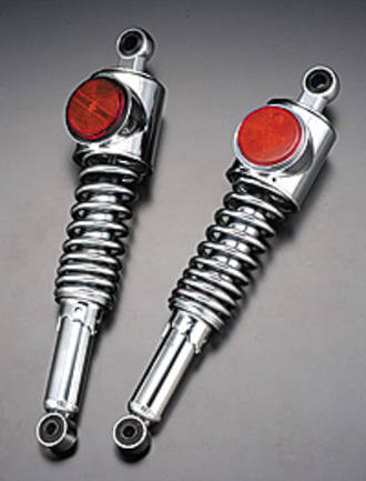 109-202 Rear Shock units - Standard with black red reflector