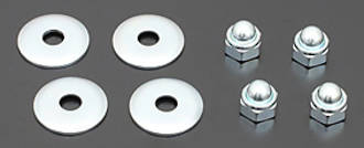 81-5113 Front Footrest Nuts and washers