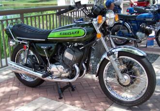1974 Kawasaki H1E 500