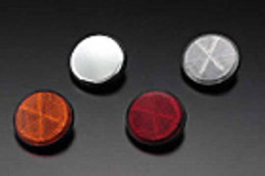 81-1195 Z1 Reflector Red/Chrome