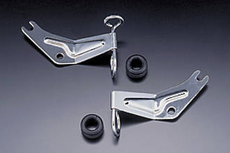 81-3051 Brake Hose Bracket R/H Chrome