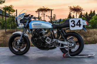Crosby / Cooley Daytona GS1000  Superbike Replica