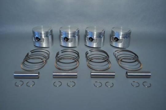 MRS-E129-025  CB750 Piston Kit .25mm O/S