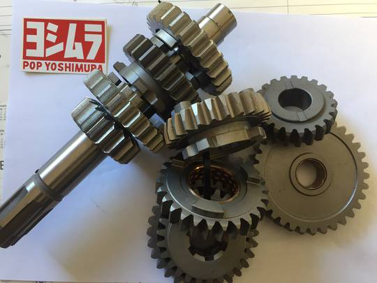 Suzuki Close ratio gear set to suit GS1000 and GSX1100