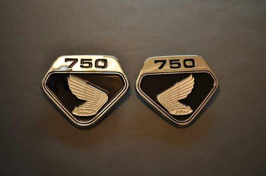 MRS-H47-2230 CB750 Side Cover Emblem