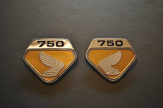 MRS-H47-2231 K0 CB750 Side Cover Emblem