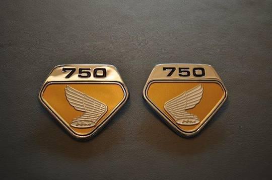 MRS-H47-2231 K0 CB750 Side Cover Emblem