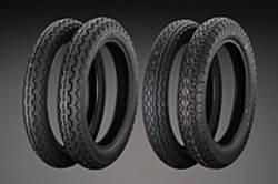 """12-122  Dunlop K87 400 x 18"""" Rear  Tire"""