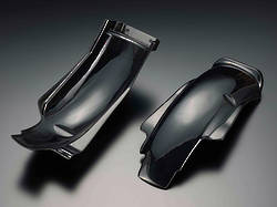81-1185 Rear Fender Inner Guard 72-75 Z1