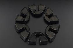81-3180 Z1 Rear Hub Rubbers