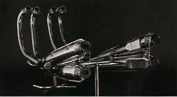 MRS-1756-M066 CB750 Replica Exhaust System 4 x 4