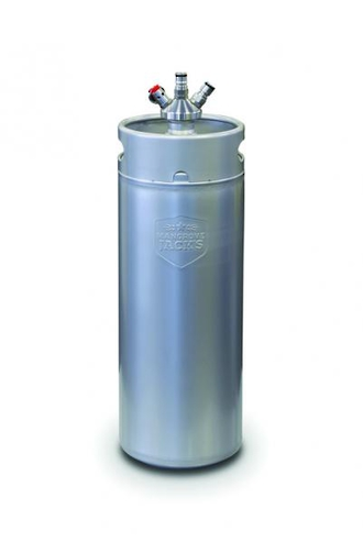 10 Litre Mini Keg with Ball Lock Cap