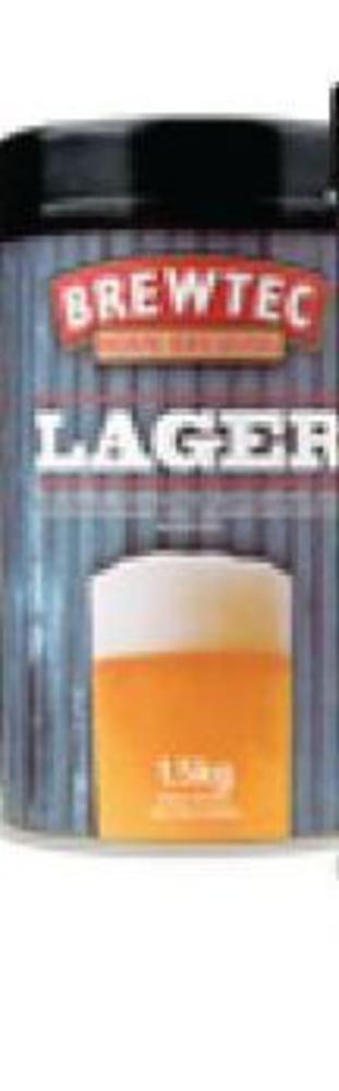 Brewtec Lager Beerkit 1.7kg